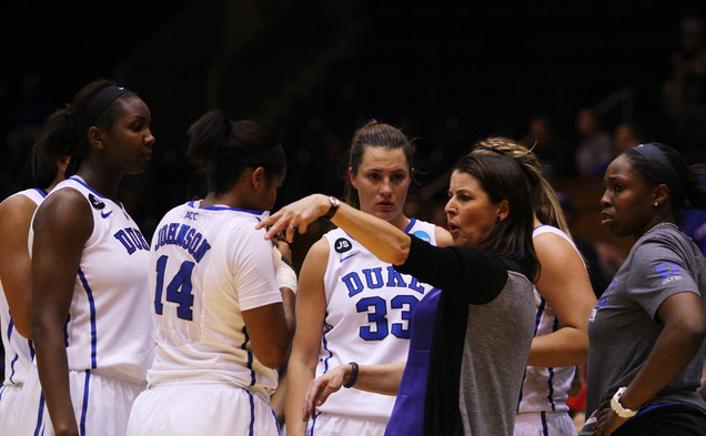 In her seven years as Duke head coach, Joanne P. McCallie has racked up 202 wins in additon to three ACC Championships and four Elite Eight appearances.