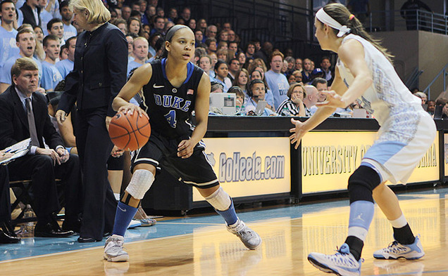 Chloe Wells was suspended for the second half of last season and missed the beginning part of this year injured, but she has become a key cog in the backcourt.