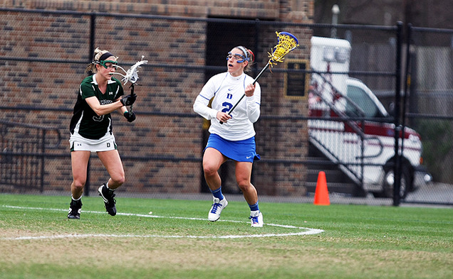 After a four-goal performance against North Carolina, Makenzie Hommel will lead Duke's attack on the road against Boston College