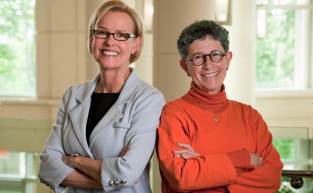 15 million was awarded to Duke Medicine by The Marcus Foundation to fund an ongoing project by Geraldine Dawson and Joanne Kurtzberg, pictured left and right, respectively.