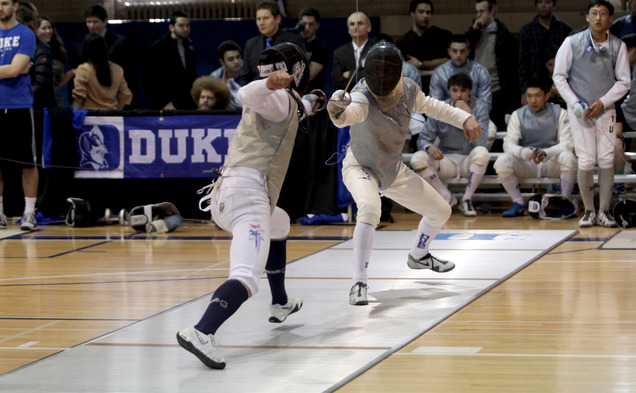 Duke's fencers will make a bid for the national championships this weekend at NCAA Regionals.