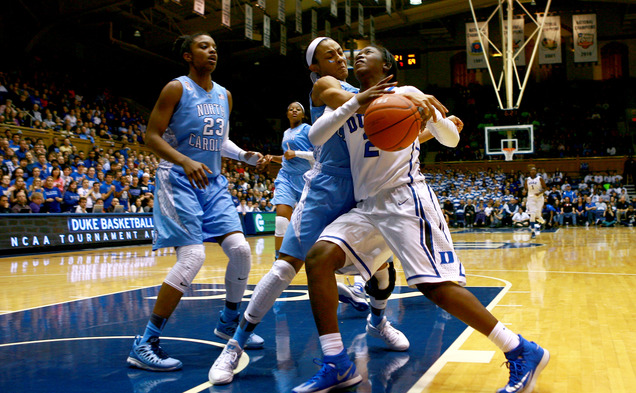 The Blue Devils fell to North Carolina at home for the first time since 2008.