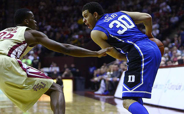 Seth Curry led the Blue Devils with 21 points in their win over Florida State.