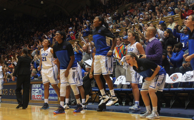 Duke was excited to learn it had secured a No. 2 seed in the Lincoln Region of this year's NCAA tournament.