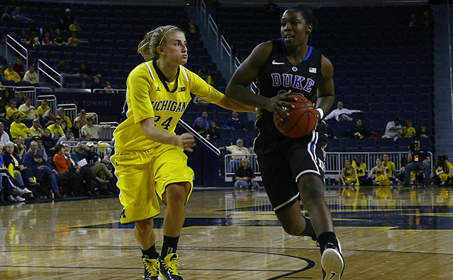 Chelsea Gray led Duke with 19 points and five steals in 35 minutes of action in the team's win.