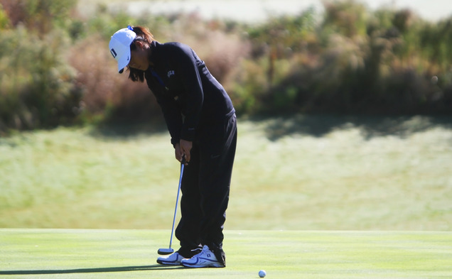 Sophomore Celine Boutier claimed the individual title for the second consecutive weekend.