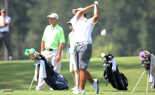 Duke couldn't find its stroke when it traveled to Kannapolis, N.C., to play the Irish Creek Collegiate.
