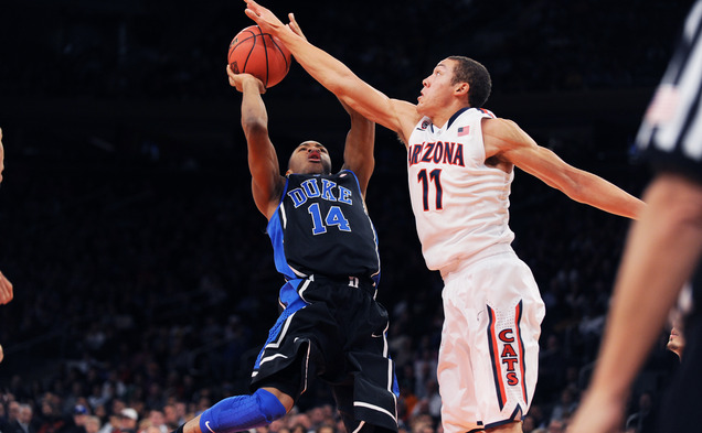 Sophomore Rasheed Sulaimon continued to struggle as Duke fell 72-66 to Arizona in the championship game of the NIT Season Tip-off.