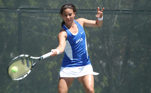 Hanna Mar's career as a Blue Devil was cut short by an aggressive Bruin squad Saturday in the NCAA quarterfinals.
