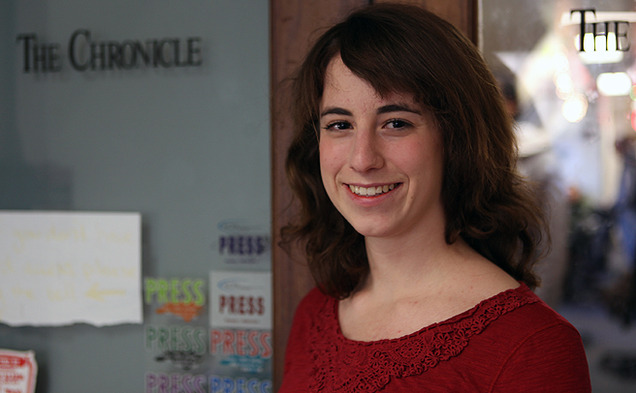 Starting next Fall, sophomore Danielle Muoio will lead The Chronicle as editor-in-chief for one year. She was chosen in a staff-wide election Friday.