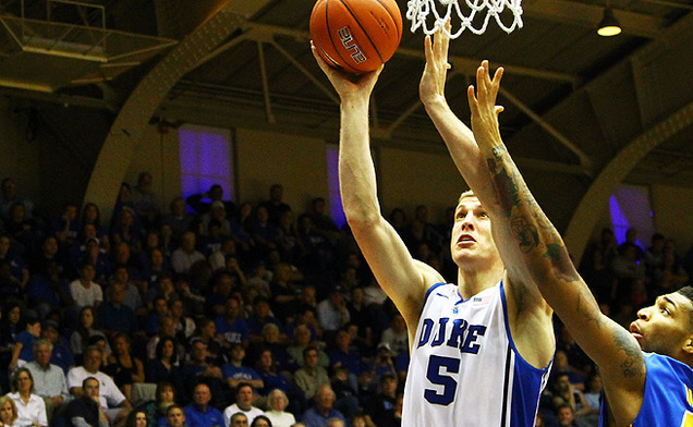 Mason Plumlee and the Blue Devils will look to avenge last season's loss to Temple.