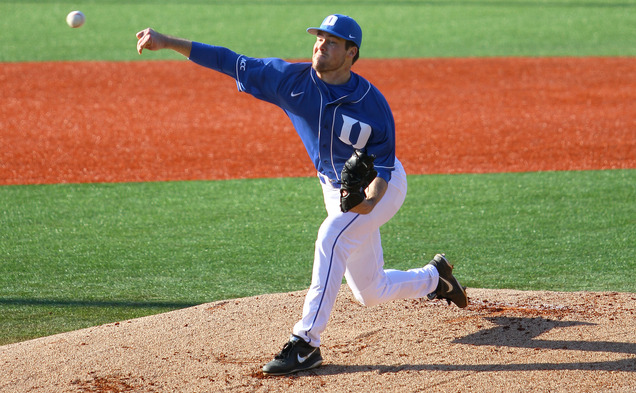 Drew Van Orden struck out six and allowed just one run in seven innings of work as Duke won its seventh straight game.
