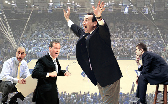 Columnist Brady Buck takes guesses at who might be Duke basketball's next coach some day.
