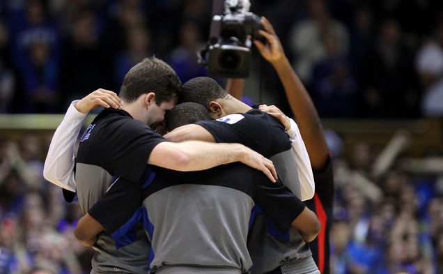 Although Duke's four seniors took center stage for Senior Night recognition, the Blue Devils are still a young basketball team according to their head coach.