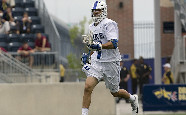 Jake Tripucka was one of three Blue Devils taken in the Major League Lacrosse college draft.