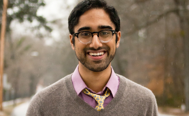 Senior Gurdane Bhutani points to his history of advocating policy at Duke in his Young Trustee campaign.