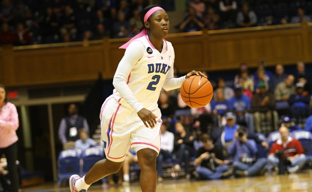 Sophomore point guard Alexis Jones will miss the rest of the 2013-14 season with a torn ACL.