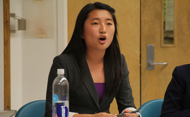 Junior Joyce Lau has served as SOFC chair this year.