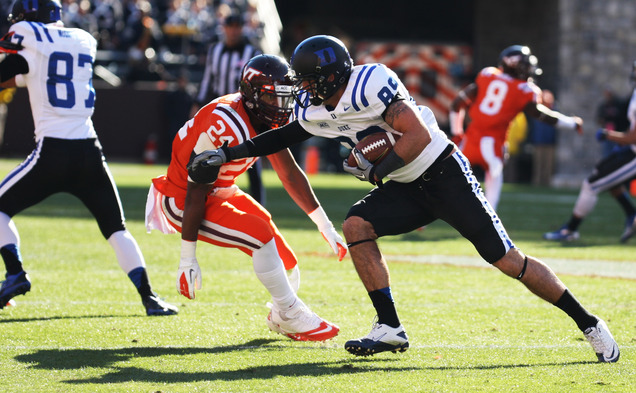 Duke's victory in Blacksburg was the team's first in program history and the Blue Devils' first road win against a ranked opponent since 1971.