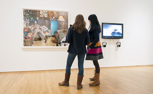 At the Nasher Museum of Art, students from the School of Medicine study art as part of an interdisciplinary effort to enhance communication with patients.