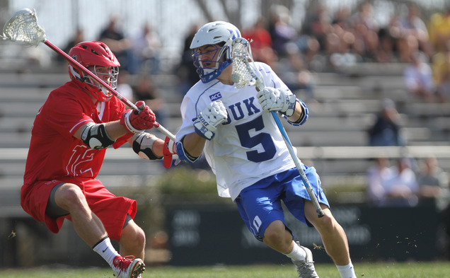 The top-ranked Blue Devils will look to snap a four-game losing streak in their all-time series with the Terrapins, who currently hold the No. 2 ranking.