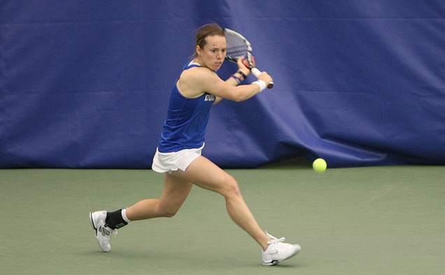 Marianne Jodoin is one of just five players that will compete for Duke in this weekend's ACC Tournament.