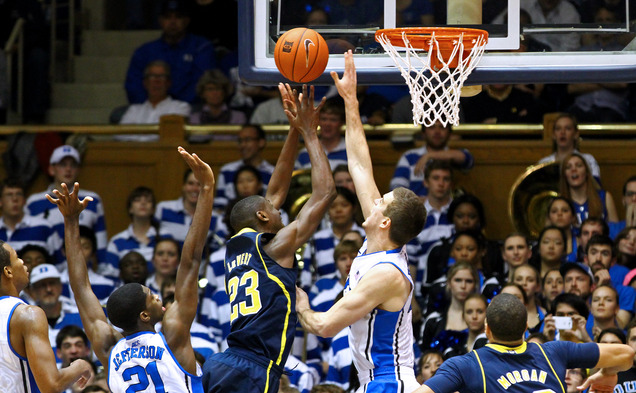 Putting its defensive intesnity on display in a home victory against Michigan, the Blue Devils continue to make strides after struggling to begin the season.