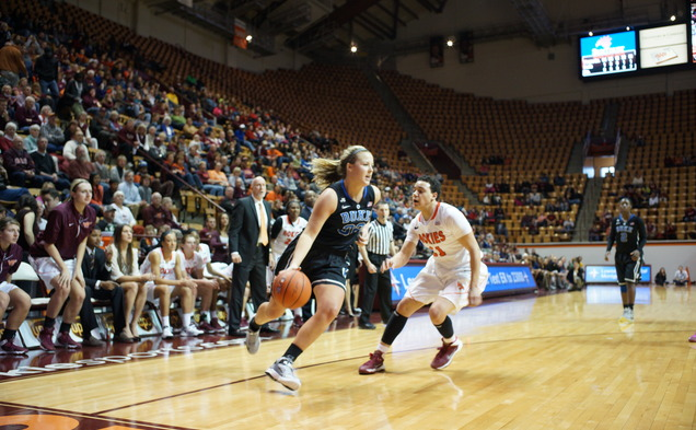 Tricia Liston scored 22 points, and none were bigger than the free throws she hit down the stretch to seal the victory for Duke.