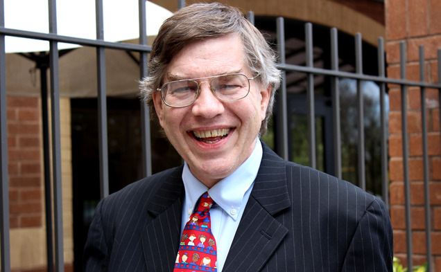 Sean Haugh, pictured, is a third-party candidate running for the U.S. Senate agains Thom Tillis and Kay Hagan.