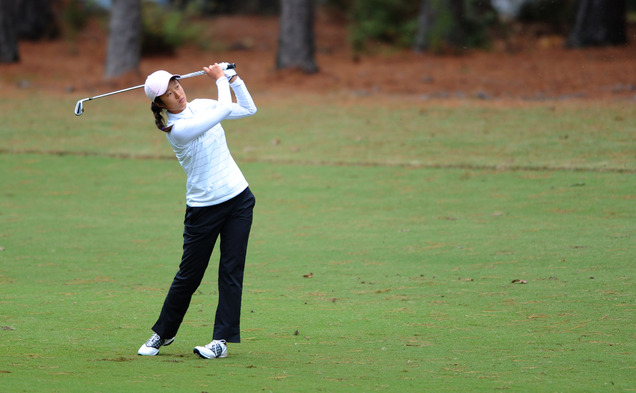 Freshman Yu Liu will look to lead the Blue Devils to victory at the ACC Championships this weekend.