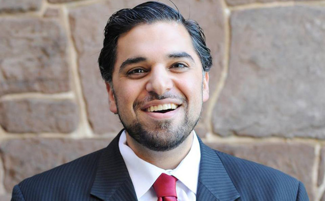 Imam Adeel Zeb, pictured, will move from Wesleyan University and Trinity College in Connecticut to become the Muslim chaplain at Duke.