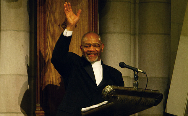 Rev. William Turner presented the keynote address at annual MLK Day Service.