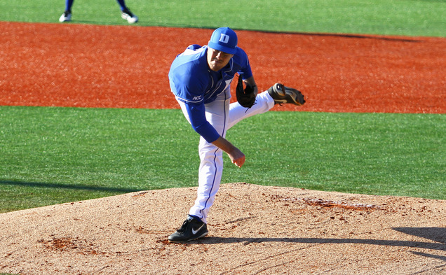 Drew Van Order and the Duke pitching staff has led the way during the winning streak, throwing 19 straight scoreless innings.