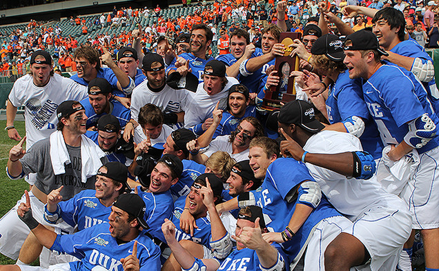 The Blue Devils captured their second national championship in program history with a 16-10 victory against Syracuse.