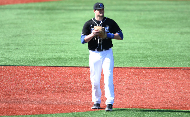 The Blue Devils played a solid game defensively but could not get the bats going against Florida State.