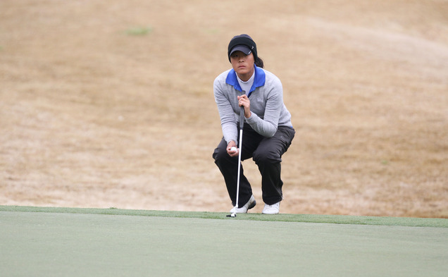 Junior Celine Boutier competed at the U.S. Women's Open at Pinehurst No. 2 this past June.