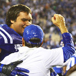 Duke football coach David Cutcliffe will have even more to celebrate when Edwards is on campus.
