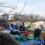 DSG approved policies for K-Ville, pictured above, establishing that one-third of a tenting group must always be present in the area.