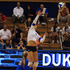 Junior Emily Sklar posted a career-high 24 kills in the Blue Devils' 3-1 win against Pennsylvania, with the final kill sealing the game for Duke.