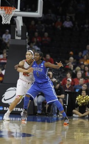 Elizabeth Williams impressed in her final game as a Blue Devil.