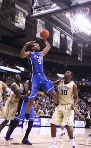 Rodney Hood scored 16 points against Wake Forest before fouling out down the stretch.