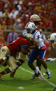Seminole redshirt sophomore Kelvin Benjamin has caught 12 touchdowns so far this year, good for eight in the nation.