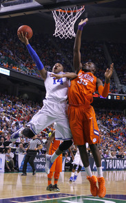 Rasheed Sulaimon attacked the rim against the Tigers and made a big bucket down the stretch.