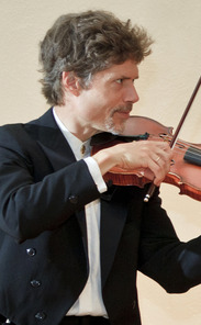 Eric Pritchard is the first violinist in the Ciompi Quartet.