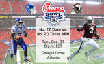 Duke and Texas A&M will square off in the 2013 Chick-fil-A Bowl in Atlanta.