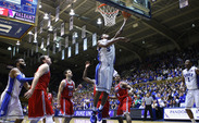 Redshirt sophomore Rodney Hood scored 28 points in 21 minutes as the Blue Devils ran past Florida Atlantic.